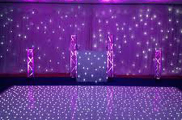 White Dance Floor Hire Brisbane