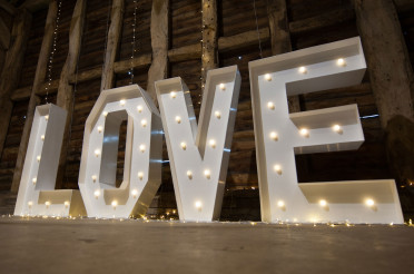 Giant Love Letter Hire Brisbane