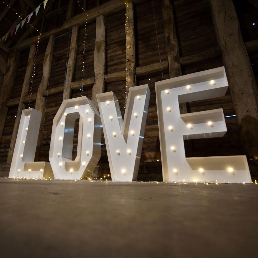 Giant Love Letter Hire Brisbane