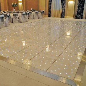 White Starlight LED Dance Floor