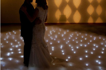 White Dance Floor Hire Sunshine Coast