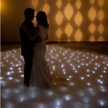 White Dance Floor Hire Gold Coast