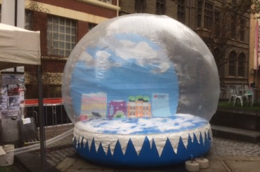 Brisbane Snow Globe Hire at RMIT
