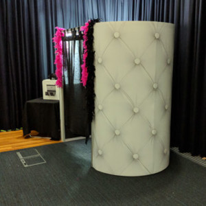 Oval Photo Booth Hire